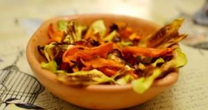Chips de Zanahoria y Zapallo Italiano