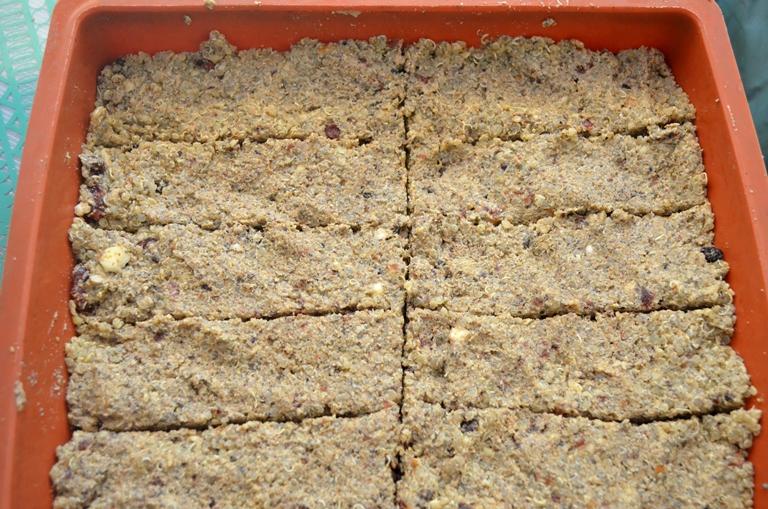 barritas quinoa