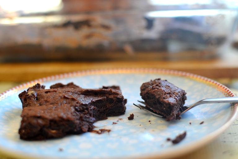 Brownie plato