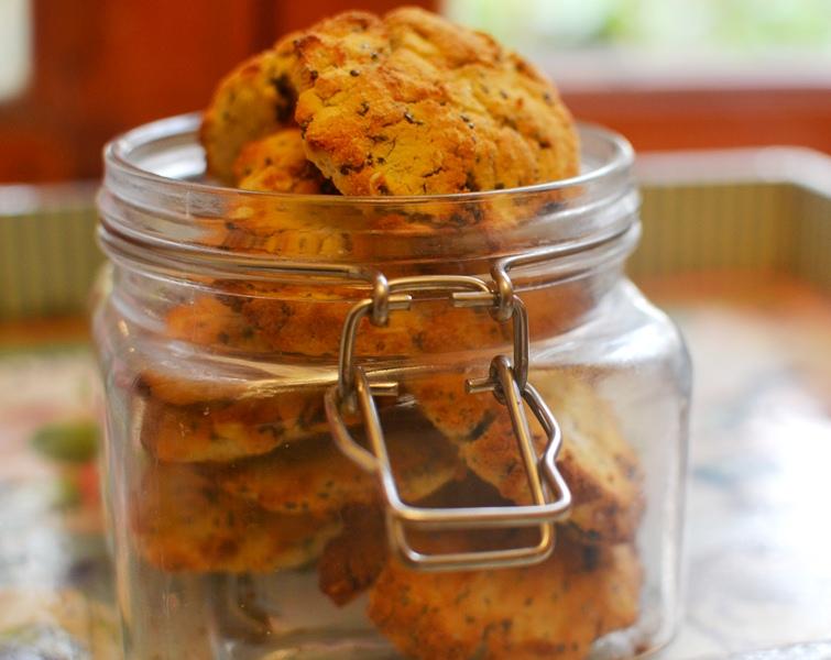 galletas de chia