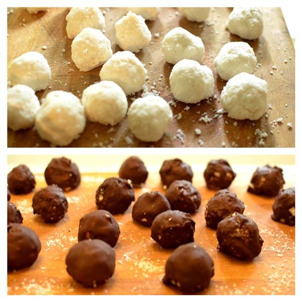 Chocolates tipo Prestigios