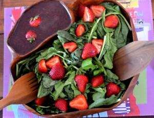 Ensalada Veraniega de Frutos Rojos