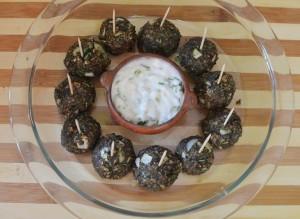 Bolitas Crocante de Quinoa
