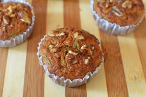 Muffins Plátano Nuez