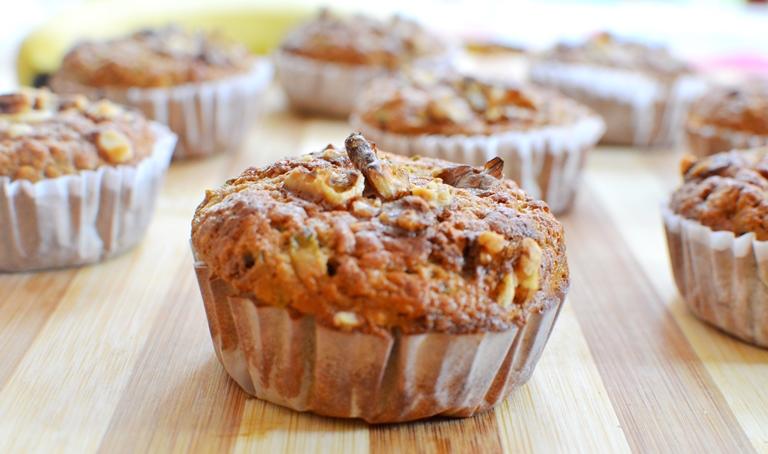 Muffins Plátano