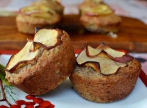Muffins de Manzana – Almendra