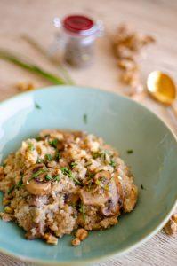 Quinoa Cremosa con coco
