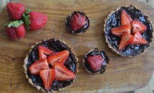Tartaletas Choco – Frutilla