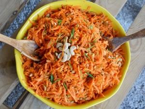 Ensalada Zanahoria – Castañas de Caju
