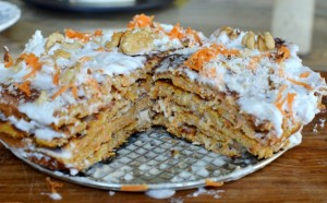 Torta Panqueque Zanahoria