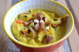 Curry de Pollo y Verduras