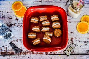 Galletas de Naranja Rellenas