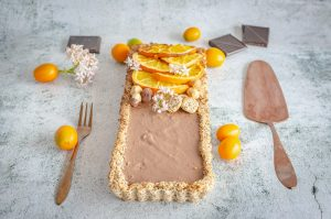 Tarta Choco-Naranja