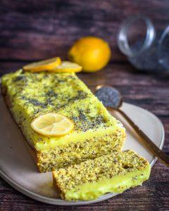 Queque Limón Amapolas + Crema Limón