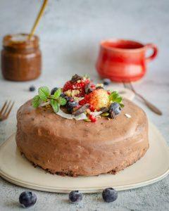 Torta Trufa Vegana